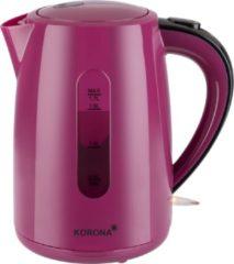 Korona - 20134 - roze waterkoker, 1.7 liter, 2200W