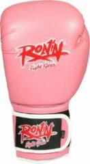 Ronin Training Bokshandschoen - Roze - 16oz
