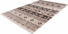 Ariya Kelim design vloerkleed Taupe - 200x290CM