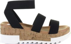 Steve Madden Bandi dames sandaal - Zwart - Maat 41