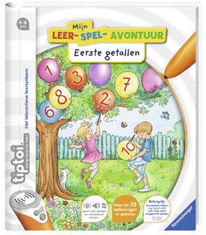 Afbeelding van Boek Tiptoi - Mijn leer-spel - Eerste getallen - Educatief spel Ravensburger TipToi