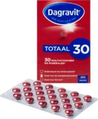 Dagravit Totaal 30 - 200 Tabletten - Multivitamine