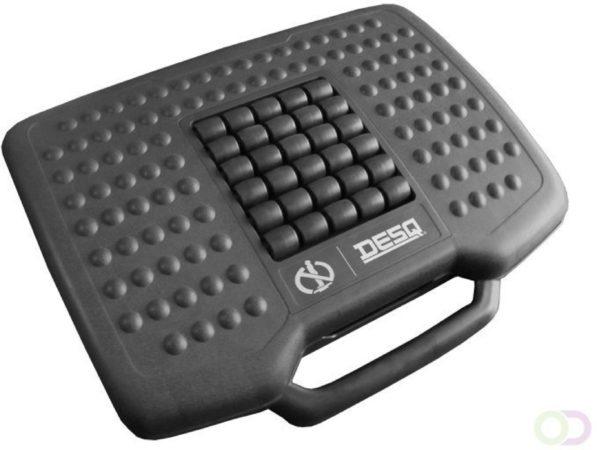 Afbeelding van Zwarte DESQ anti-slip voetensteun - in hoogte verstelbaar, 0-30 graden kantelbaar