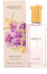 Yardley London April Violets Eau De Toilette Spray 125 ml For Women