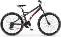 MBM Mountainbike SHOK 26? 18-Gang Schwarz-Rot