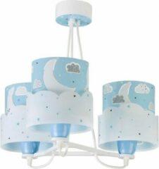 Star Bright Starbright Kroonluchter Maan Junior 39 X 39 Cm Wit/blauw
