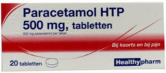 Healthypharm Paracetamol 500mg 20 tabletten