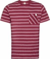 Protest PRENTON Men T-Shirt - Dark Cherry - Maat S