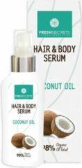 Fresh Secrets Haar & Body Serum *Kokosnoot Olie* 100ml