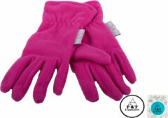 P&T Handschoenen Micro Fleece - Framboos - 3-4j
