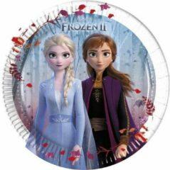 Stemen Frozen 2 karton Bordjes 20 cm 8 stuks