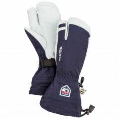 Hestra - Army Leather Heli Ski 3 Finger - Handschoenen maat 8, blauw/grijs
