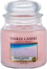 Roze Yankee Candle Pink Sands Medium Jar