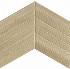 Fap Ceramiche Fapnest vloer- en wandtegel 7.5x45cm Hout look Maple Chevron Mat SW07311455