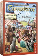999 Games Carcassonne Het Circus uitbreidingsspel