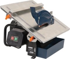 Ferm TCM1010 tegelsnijder Afmetingen (tafel) 360 x 330 mm Snijdiepte (max.) (45°/90°) 18/34 mm Vermogen 600 W