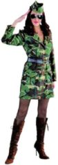 Groene Magic by freddy Leger & Oorlog Kostuum | Jungle Commando Camouflage Leger | Vrouw | XL | Carnaval kostuum | Verkleedkleding