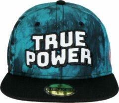 Marvel Comics True Power Snapback Cap Pet Tie Dye Zwart / Blauw
