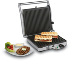 Zilveren Fritel Grill-Panini-Barbecue GR 2275 grillapparaat 142075