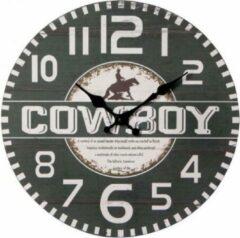 Beige Kodiak Klok Cowboy Sign