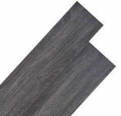 VidaXL Vloerplanken 5,26 m 2 mm PVC zwart en wit