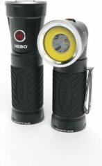 Zwarte NEBO BIG CRYKET - COB werk lamp - 300 Lumen - draaibare kop