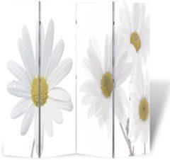 VidaXL Kamerverdeler inklapbaar bloem 160x180 cm