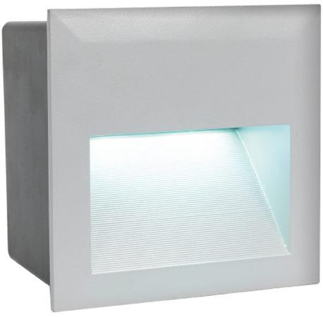 Afbeelding van EGLO Zimba-LED - Buitenverlichting - Inbouwarmatuur - 1 Lichts - Zilver