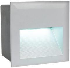 EGLO Zimba-LED - Buitenverlichting - Inbouwarmatuur - 1 Lichts - Zilver