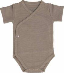 Baby's Only Rompertje Pure - Mokka - 50 - 100% ecologisch katoen - GOTS