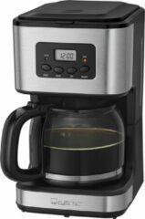 Zwarte Quadra Clatronic koffiezetapparaat met timer KA 3642