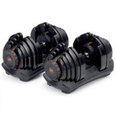 Zwarte Bowflex 1090i 40,8 kg Dumbbell Set Aanpasbare Dumbbells