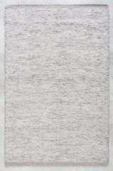 Grijze MOMO Rugs - Laagpolig vloerkleed MOMO Rugs Teppe Grey White - 170x230 cm