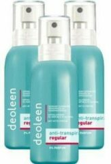 Deoleen Anti-transpirant pompspray - 3 Pack