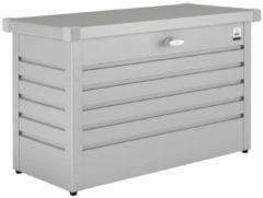 Grijze Biohort Opbergbox/Hobbybox 130 zilver metallic - 134 x 62 x 71 cm