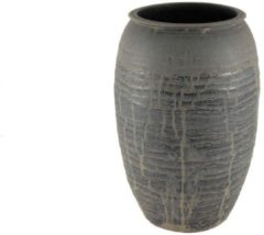 HS Potterie Antiek Zwarte Vaas Antas SET/2 - Antiek Zwarte Vaas Antas SET/2