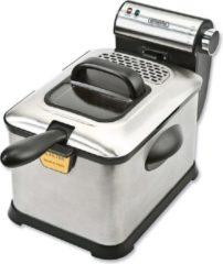 Roestvrijstalen Bourgini Classic Deep Fryer Deluxe - Frituurpan - 3 liter