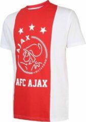 Merkloos / Sans marque T-shirt Ajax wit/rood/wit AFC XXX maat L