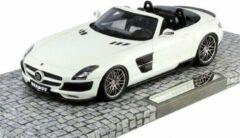 Witte Brabus 700 Biturbo Roadster 2013 - 1:18 - Minichamps