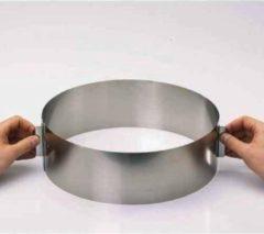 Zilveren GEFU Taarting - Verstelbaar