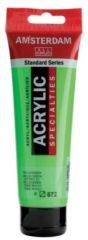 Groene Royal Talens Amsterdam Standard acrylverf tube 120ml - Reflexgroen - halftransparant