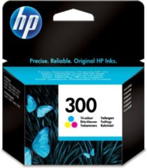 Paarse HP 300 Tri-Colour Ink Cartridge Met Vivera Inkt