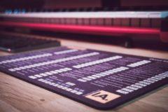 Zwarte InsideAudio Reason Shortcut Muismat - XL