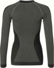 Zwarte Falcon Dames Thermoshirt M/L