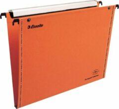 Hangmap Esselte Orgarex Visioplu verticaal 15mm oranje