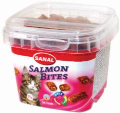 Beeztees Sanal Salmon Bites - Zalm - Kattensnack - 75 g