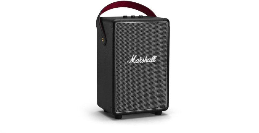 Afbeelding van Marshall Tufton Bluetooth luidspreker AUX, Spatwaterdicht Zwart