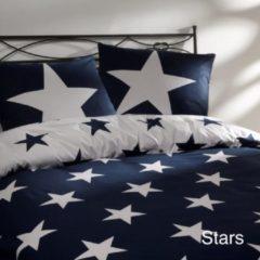 Blauwe Day Dream Stars - Dekbedovertrek - Lits-jumeaux - 240x200/220 cm + 2 kussenslopen 60x70 cm - Navy