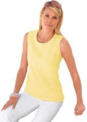 Gele Casual Looks shirttop van puur katoen
