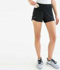 Zwarte FlipBelt - Running Short - Runningbelt - Hardlopen - Heupband - Hardloopbroekje - Dames - Maat XS